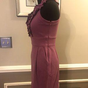 Banana Republic Dresses - New Banana Republic Purple Dress Sleeveless Size 0